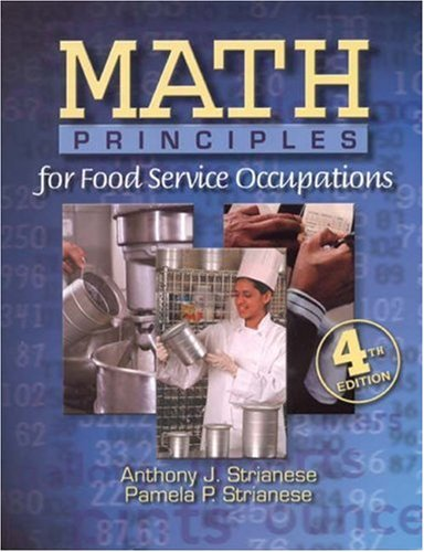 Math Principles for Food Service 9780766813175