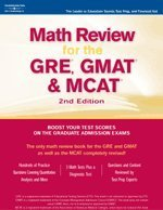 Math Review for the GRE, GMAT & MCAT 9780768913231