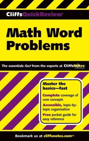 Math Word Problems 9780764544927