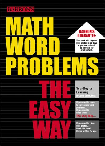 Math Word Problems the Easy Way 9780764118715