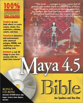 Maya 4.5 Bible [With CDROM] 9780764536458