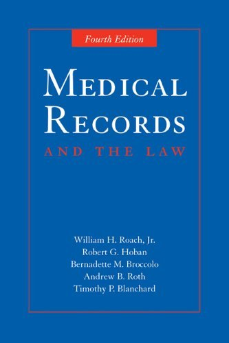Medical Records and the Law 9780763734459