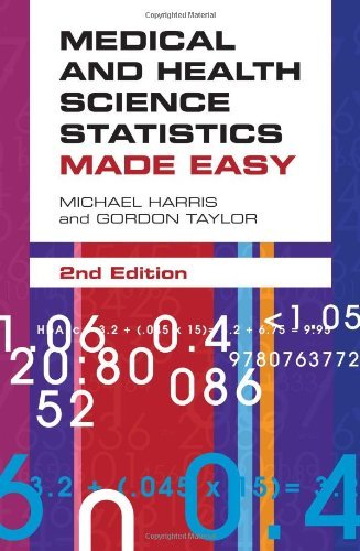 Medical and Health Science Statistics Made Easy 9780763772659