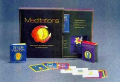 Meditations: A New Guide to Simple Wisdom, with Book and Meditation Cards 9780762401550