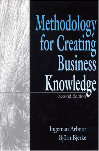 Methodology for Creating Business Knowledge 9780761904502