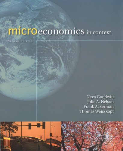 Microeconomics in Context 9780765623010
