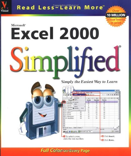 Microsoft Excel 2000 Simplified 9780764560538