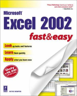 Microsoft Excel 2002 Fast & Easy 9780761533986
