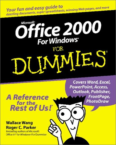 Microsoft Office 2000 for Windows for Dummies 9780764504525