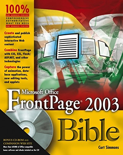 Microsoft Office FrontPage 2003 Bible [With CDROM]