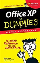 Microsoft Office XP for Windows for Dummies Quick Reference