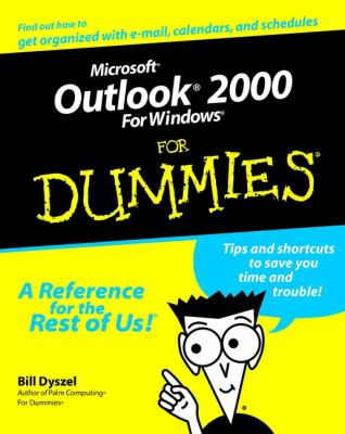 Microsoft Outlook 2000 for Windows for Dummies 9780764504716