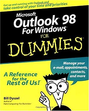 Microsoft Outlook 98 for Dummies 9780764503931