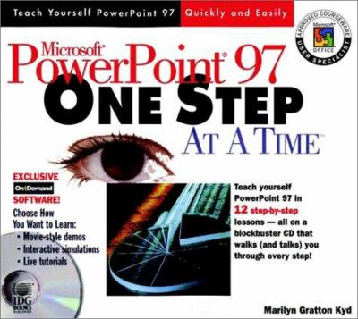 Microsoft PowerPoint 97 One Step at a Time [With *] 9780764532771