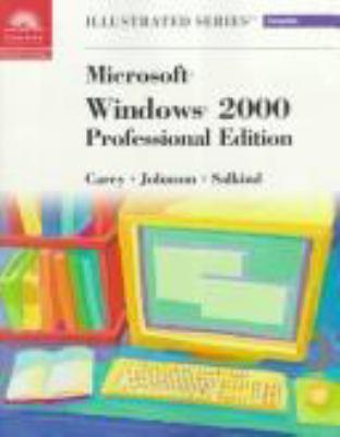 Microsoft Windows 2000-Illustrated Complete 9780760054765