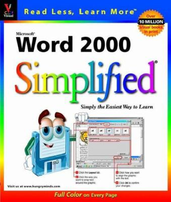 Microsoft Word 2000 Simplified 9780764560545