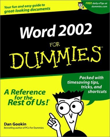 Microsoft Word 2002 for Dummies 9780764508394