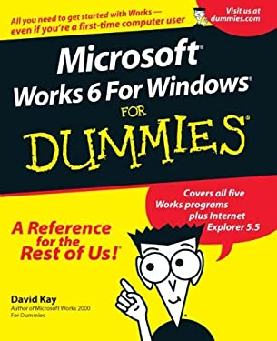 Microsoft Works 6 for Windows for Dummies 9780764507878