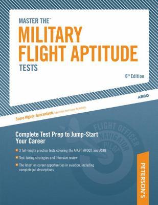 Military Flight Aptitute Tests 9780768917000