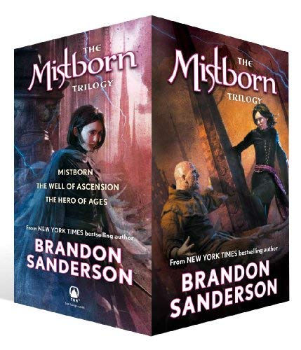 Mistborn Trilogy Set 9780765365439