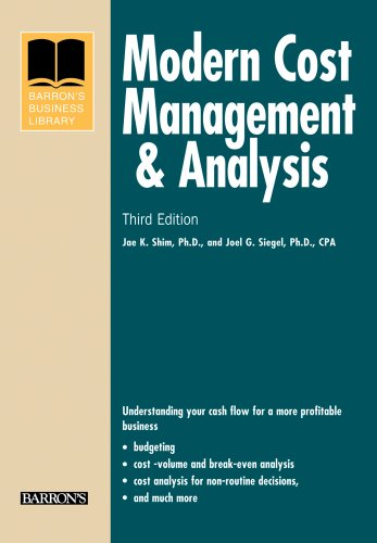 Modern Cost Management & Analysis