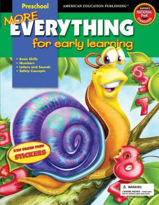 More Everything for Early Learning: Preschool [With Stickers] 9780769640990