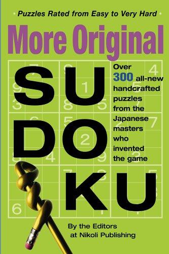 More Original Sudoku: 9780761143970