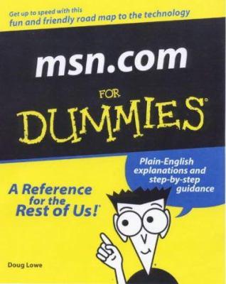 Msn.com for Dummies 9780764506499