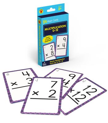 Multiplication 0 to 12 9780769677439