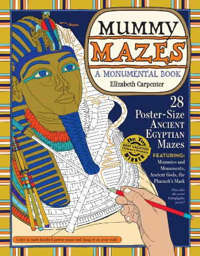 Mummy Mazes: A Monumental Book 9780761160748