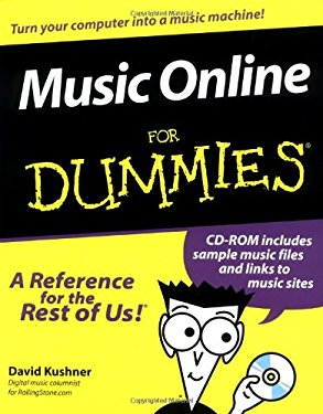 Music Online for Dummies [With CDROM] 9780764507052