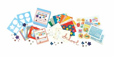 My School Days: Mini Memories Scrapbook Kit [With 2 Scrapbooks and Decorative Papers and Over 60 Stickers and Stencils and Photo Frames and] In