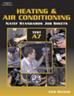 Natef Standards Job Sheet - A7 Heating and Air Conditioning 9780766863736
