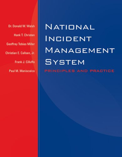 National Incident Management System: Principles and Practice 9780763730796