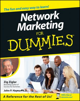 Network Marketing for Dummies. 9780764552922