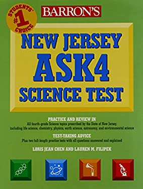 New Jersey Ask4 Science Test 9780764143038