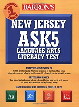 New Jersey Ask5 Language Arts Literacy Test 9780764142949