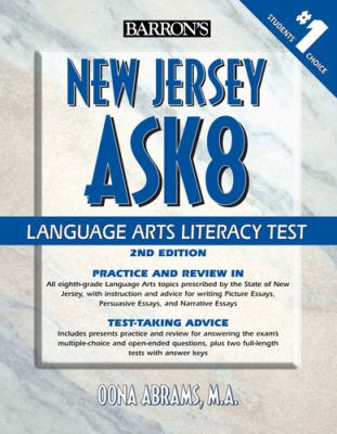 New Jersey Ask8 Language Arts Literacy Test 9780764143090