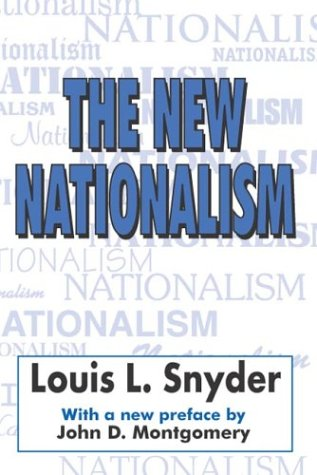 New Nationalism (The) (Ppr) 9780765805508