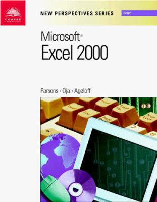 New Perspectives on Microsoft Excel 2000 - Brief 9780760070857