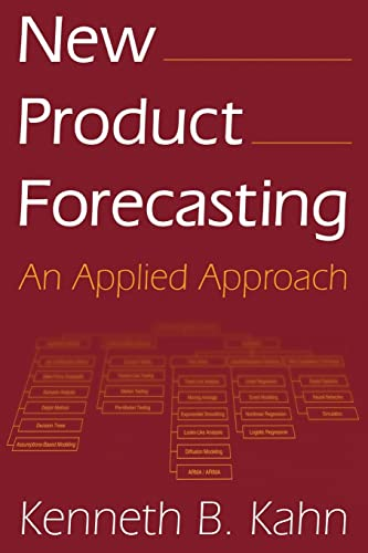 New Product Forecasting: An Applied Approach 9780765616104