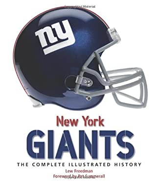 New York Giants: The Complete Illustrated History 9780760335970