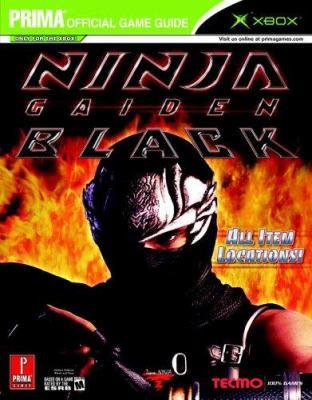 Ninja Gaiden Black: Prima Official Game Guide 9780761552116