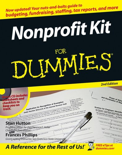 Nonprofit Kit for Dummies [With CD-ROM]