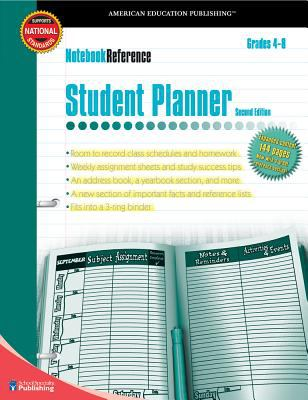 Notebook Reference Student Planner: Grades 4-8 9780769643434