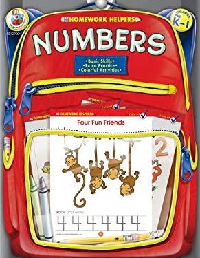 Numbers, Homework Helpers, Grades PreK-1 9780768206753