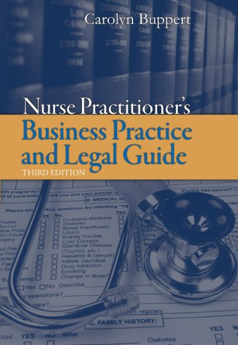 Nurse Practitioner's Business Practice and Legal Guide 9780763749330