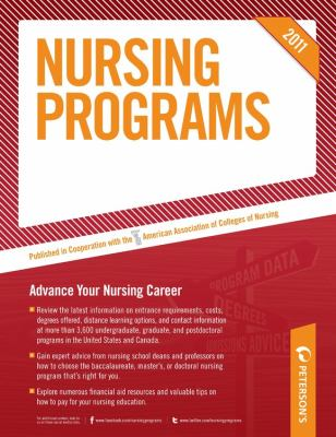 Nursing Programs 2011 9780768928365