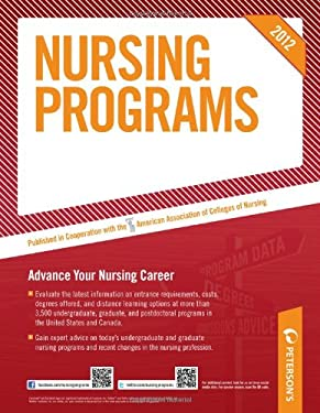 Petereson's Nursing Programs 9780768932775