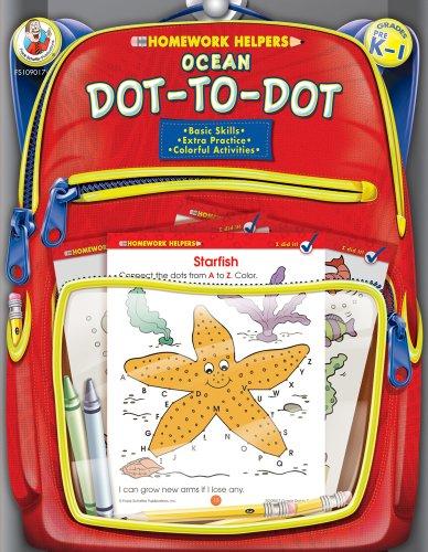 Ocean Dot-To-Dot, Homework Helpers, Grades PreK-1 9780768206883
